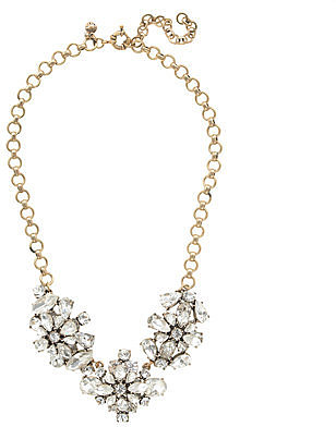 Crystal wildflowers necklace