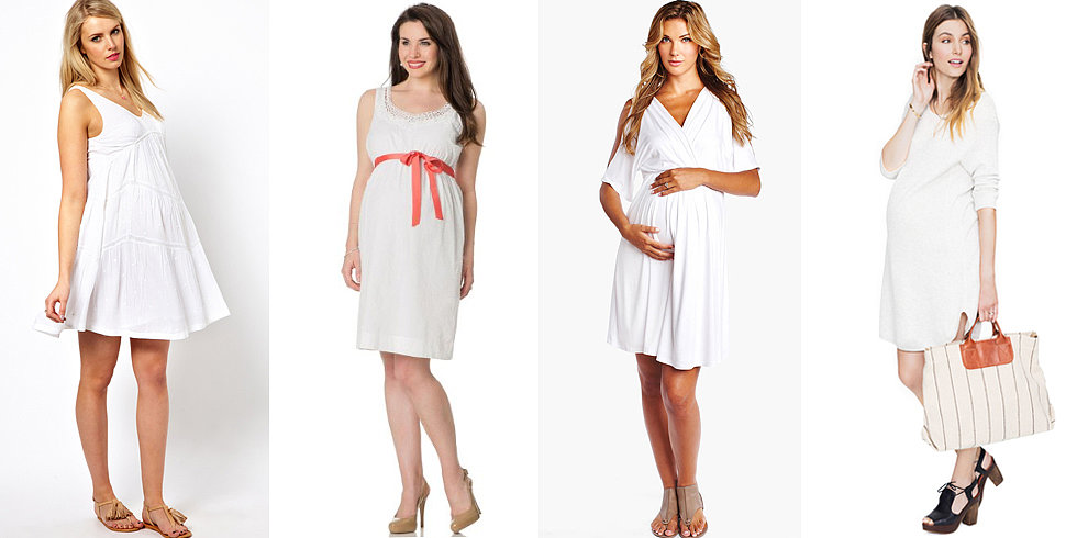 Look White-Hot in Maternity Clothes (Gasp!) After Labor Day