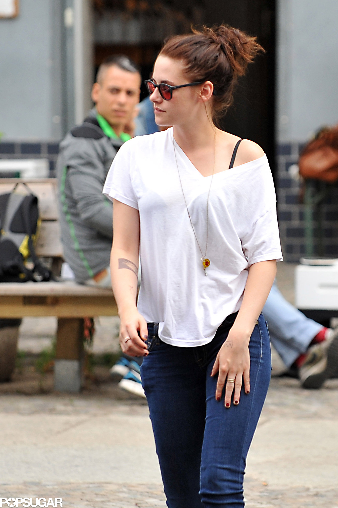 Kristen Stewart Showed Off Her New Tattoo While Out And