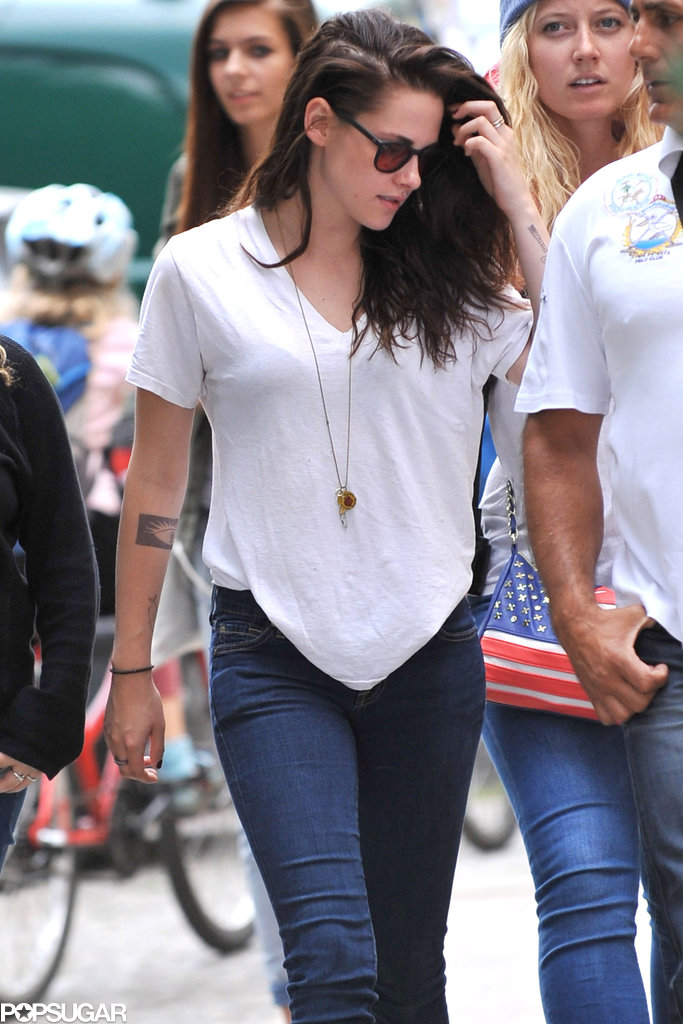 Kristen Stewart stepped out in Berlin while in town filming Sils Maria.