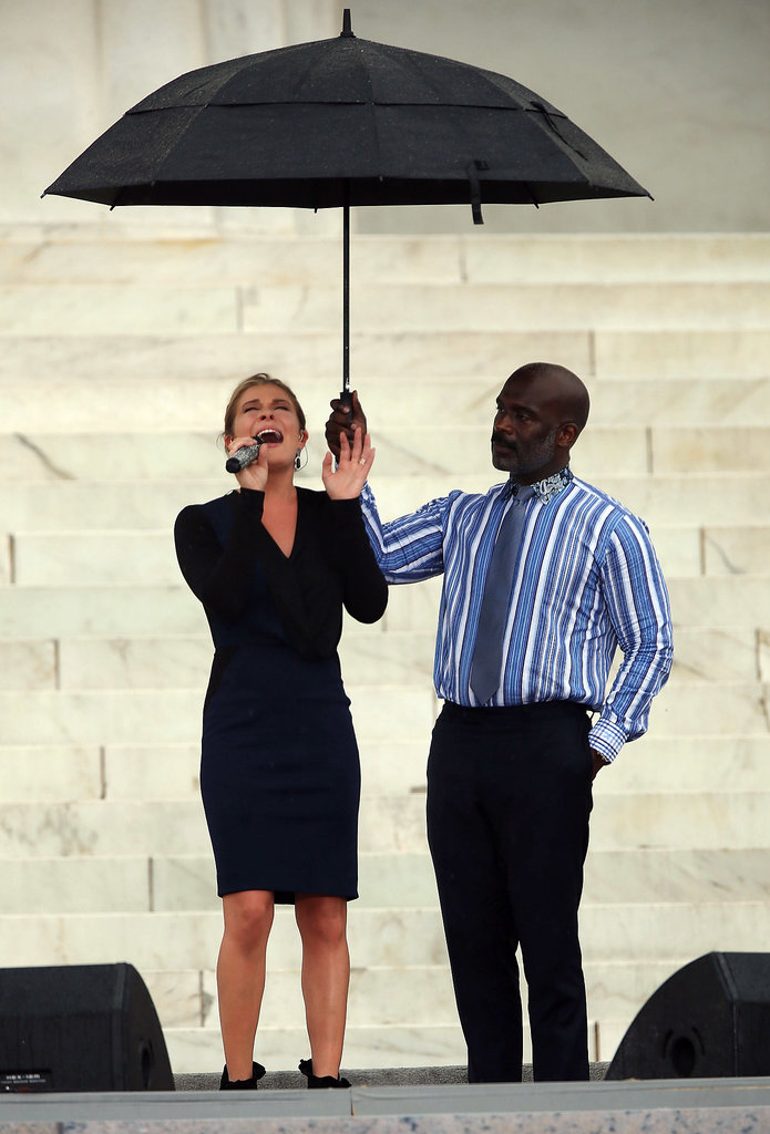 """LeAnn Rimes sang """"Amazing Grace"""" during the anniversary event in Washington DC."""