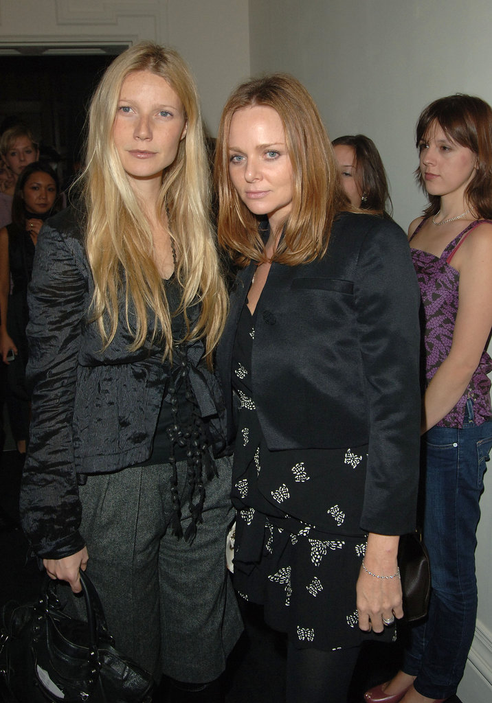 In October 2005, the actress and designer duo posed for photos at the Stella McCartney for H&M launch party in London.