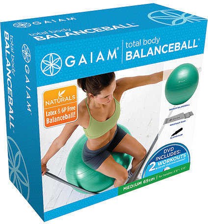 Gaiam Total Body Balance Ball Kit - Medium