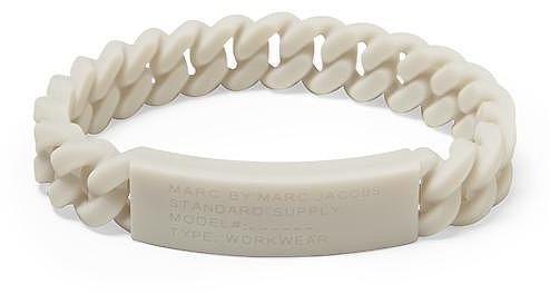 Marc by Marc Jacobs Rubber Standard Supply ID Bracelet