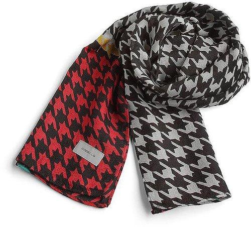 Trend Schal von Codello in rot für Damen. Gr. 1
