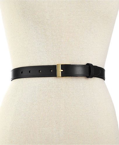 Lauren Ralph Lauren Belt, Metal Tab Vachetta