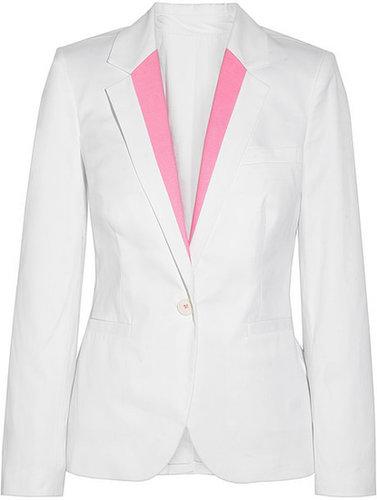 Karl Lagerfeld Jophra stretch-cotton blazer