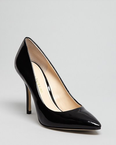 Enzo Angiolini Pointed Toe Pumps - Persist High Heel