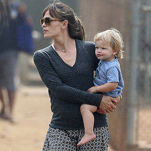 Jennifer Garner and Her Kids at the Playground | Pictures