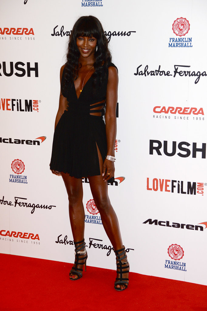 Naomi Campbell was among the other guests at the premiere.