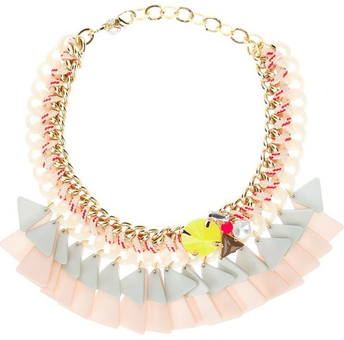 Marina Fossati triangle chain necklace