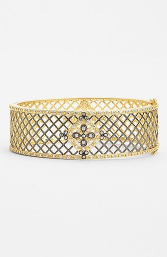 Freida Rothman 'Chelsea' Baset Weave Hinged Bangle