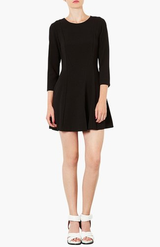 Topshop Crepe Skater Dress