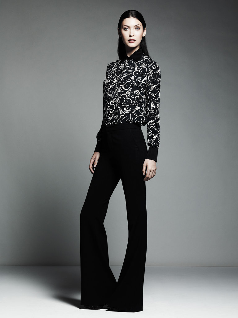 Printed Blouse ($54), Flare Trousers ($54) Photo courtesy of Kohl's