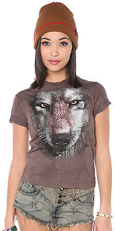 The Mountain The Wolf Face Tee