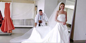 WATCH: Kate Bosworth Sees Her Oscar de la Renta Wedding Dress for the Very First Time