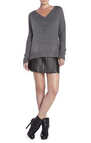 Masha V-Neck Raglan Pullover
