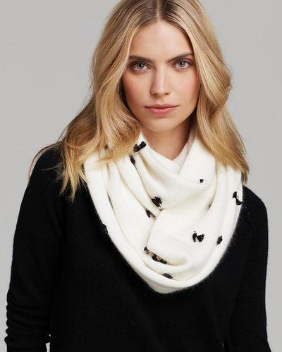 kate spade new york Mini Bow Infinity Scarf