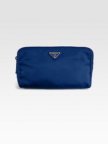 Prada Nylon Triangle Cosmetic Bag