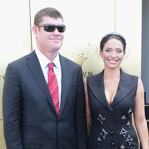 James Packer and Erica Baxter Split