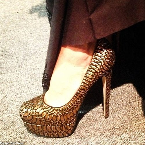 Brian Atwood had a stylish client in BFF Rachel Zoe. Source: Instagram user brian_atwood