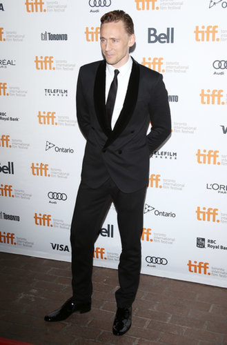 Tom Hiddleston worked his stuff at the film festival.