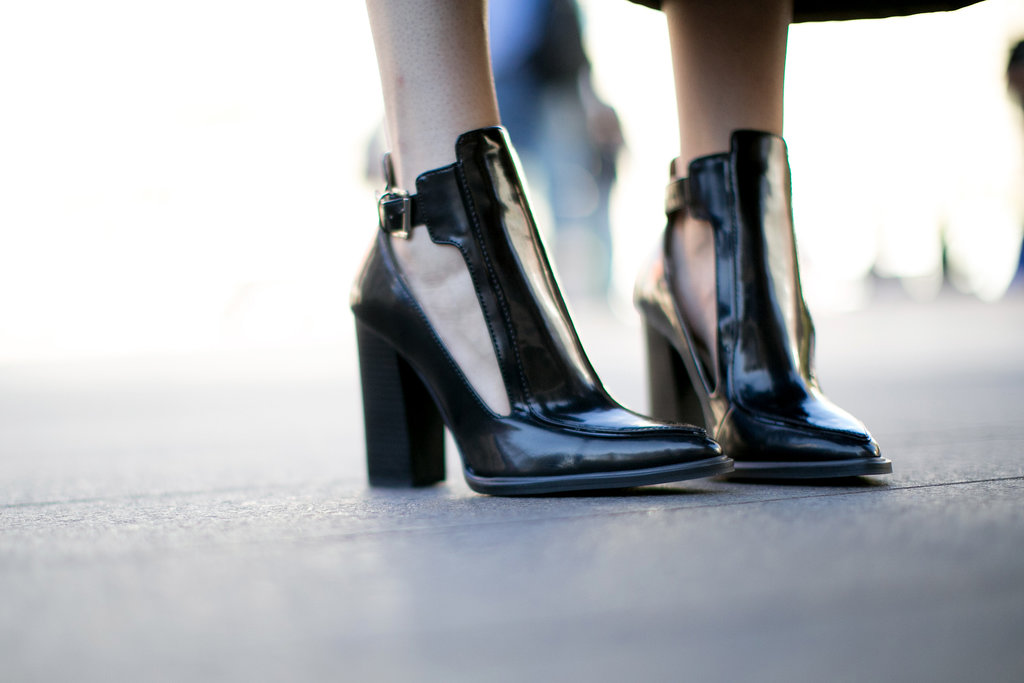 Just how we like our boots – with cutouts and a chunky, walkable heel.