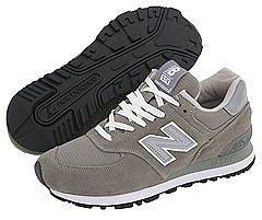 New Balance Classics - W574 (Gray/White) - Footwear