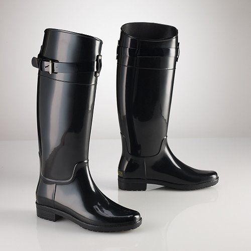 Ralph Lauren Rossalyn Rubber Wellie