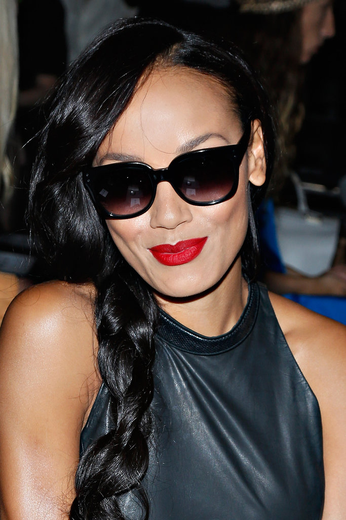 Selita Ebanks at Sally Lapointe Spring 2014.