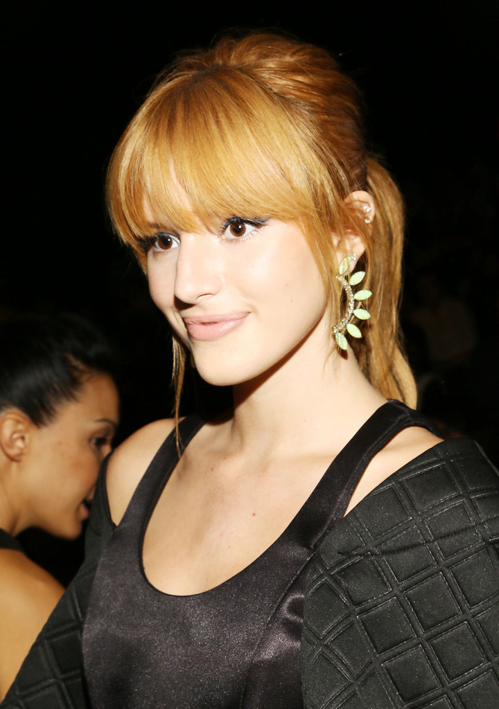 Bella Thorne at Rebecca Minkoff Spring 2014.