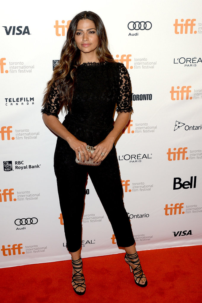Camila Alves attended the premiere of Dallas Buyers Club.