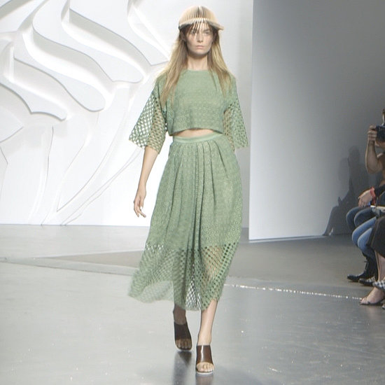 Tibi Does Tropical . . . With Birkenstocks