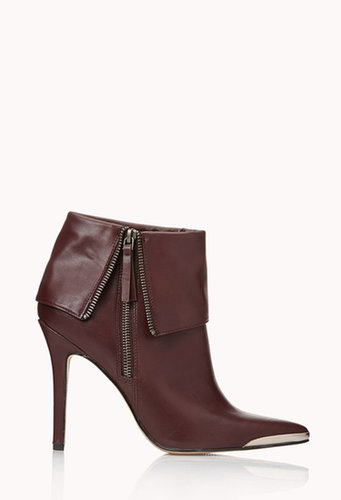 FOREVER 21 Luxe Stiletto Booties