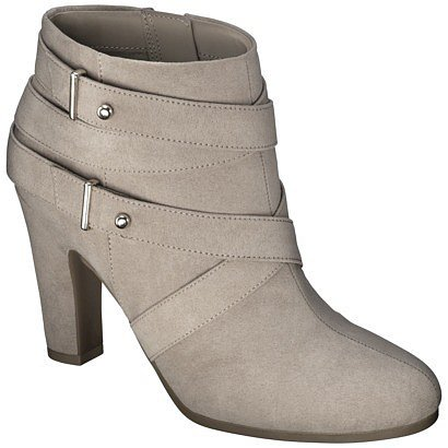 Women's Sam & Libby Sadie Heeled Ankle Boot with Straps - Beach