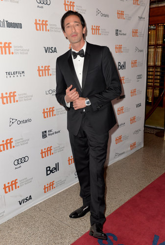 Adrien Brody attended the Third Person premiere.