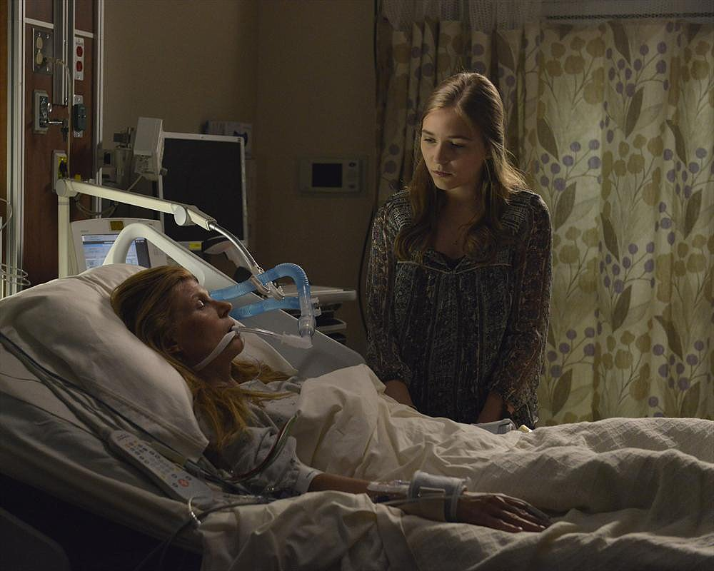 Nashville Connie Britton and Lennon Stella on the season premiere of Nashville, airing Sept. 25 on ABC.