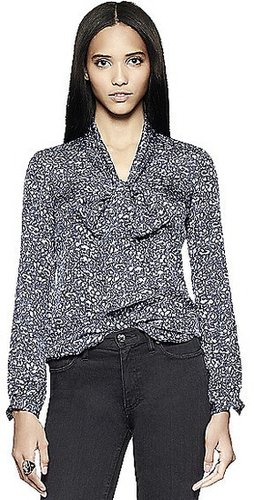Tory Burch Nicki Bow Blouse