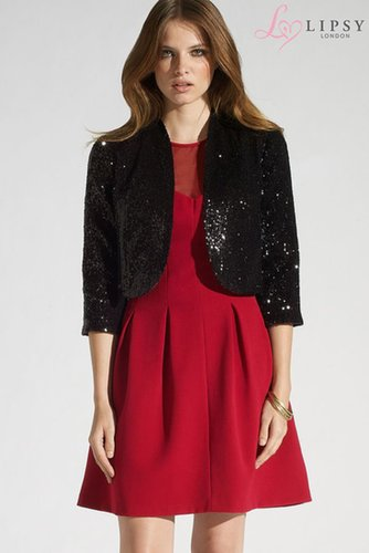 Lipsy Sequin Jacket