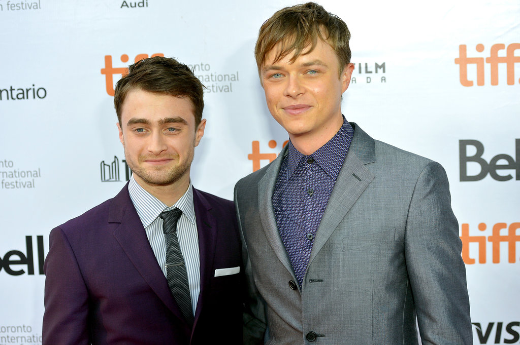Daniel Radcliffe and Dane DeHann suited up for the premiere of Kill Your Darlings.