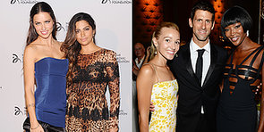 Novak Djokovic Hosts One Good-Looking Party!