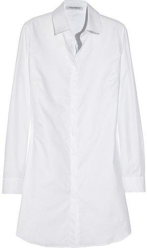 J.W.Anderson Cotton-piqué shirt dress