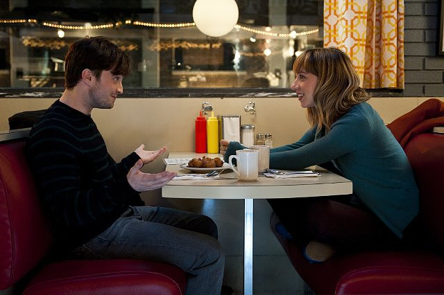 The F Word This quirky, clever comedy recalls (500) Days of Summer — but it's lighter and funnier. Daniel Radcliffe plays a single guy who meets his dreamgirl (Zoe Kazan), except when she already has a boyfriend, they navigate a platonic friendship that still sparks. It's frothy, silly, and fun — plus it has Adam Driver and makes Radcliffe into kind of a sexy leading man. Source: CBS Films