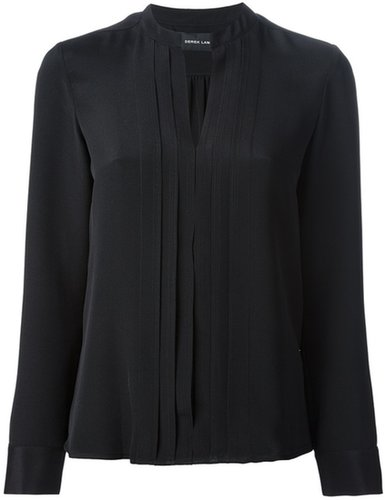 Derek Lam pleat blouse