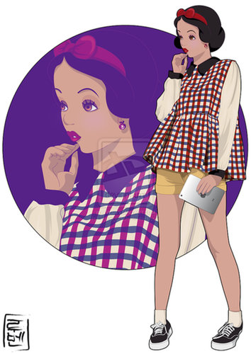 College Student Snow White