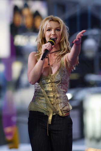 Britney Spears made a TRL appearance in 2003.
