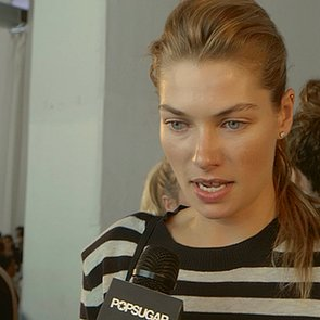 Jessica Hart Modeling Interview Video