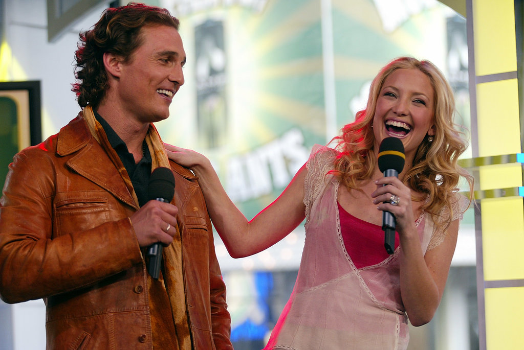 How to Lose a Guy in 10 Days costars Kate Hudson and Matthew McConaughey had a laugh on TRL in 2003.