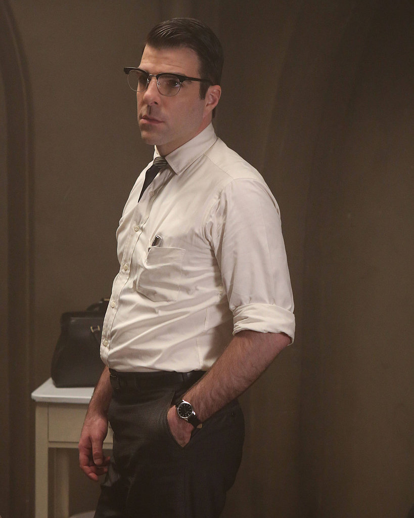 Zachary Quinto: Outstanding Supporting Actor in a Miniseries