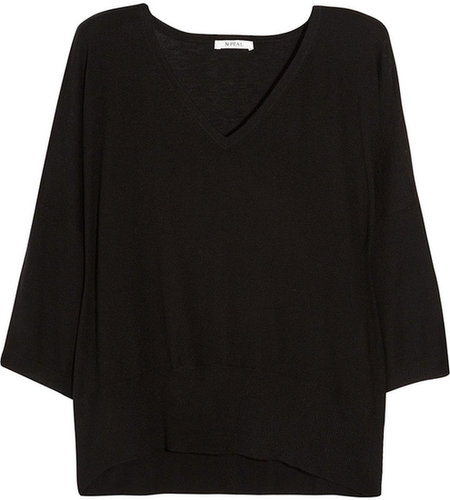 N.Peal Cashmere Oversized cashmere sweater